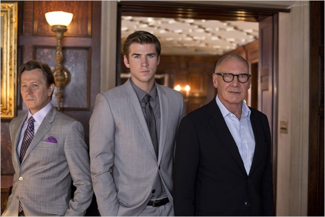 Paranoïa : Photo Gary Oldman, Harrison Ford, Liam Hemsworth