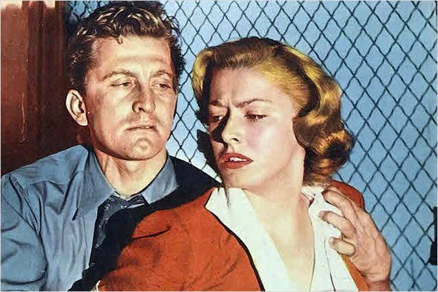 Histoire de détective : Photo Eleanor Parker, Kirk Douglas