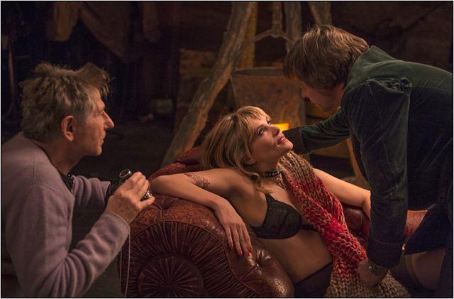 La Vénus à la fourrure : Photo Emmanuelle Seigner, Mathieu Amalric, Roman Polanski