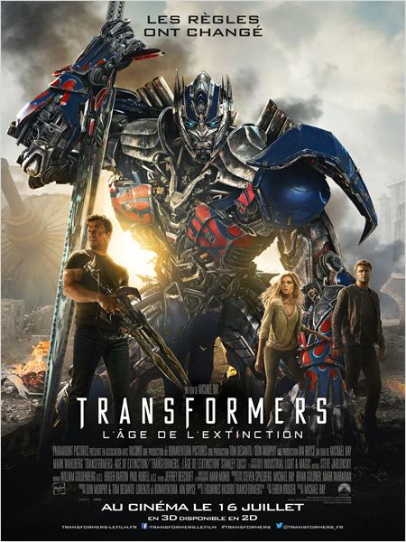 Transformers l'âge de l'extinction [TRUEFRENCH][MD][R6]