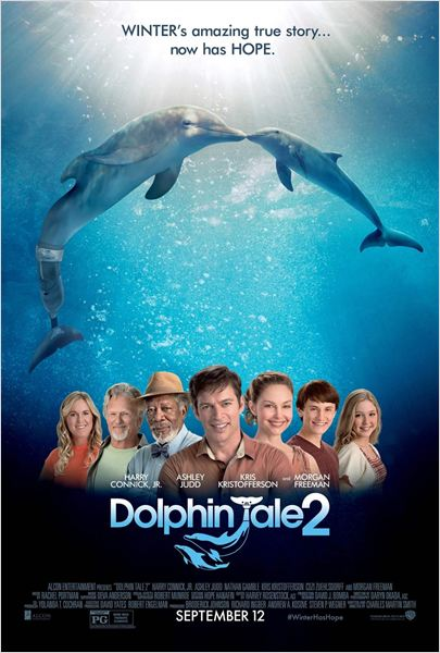 L'Incroyable Histoire de Winter le dauphin 2 : Affiche