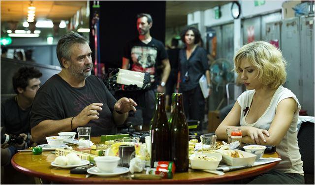 Lucy : Photo Luc Besson, Scarlett Johansson