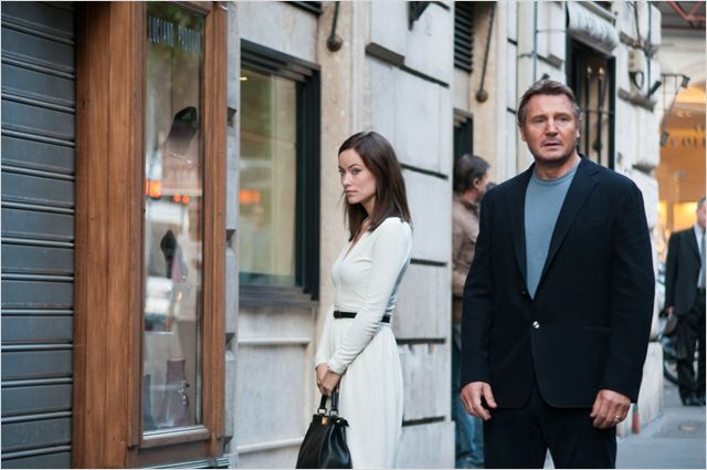 Puzzle : Photo Liam Neeson, Olivia Wilde