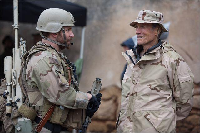 American Sniper : Photo Bradley Cooper, Clint Eastwood