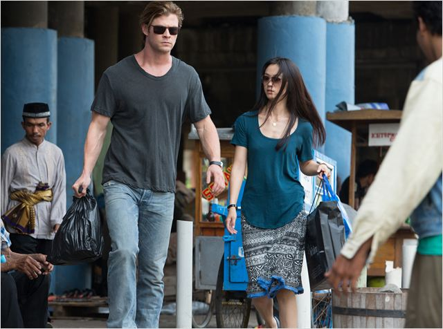 Hacker : Photo Chris Hemsworth, Tang Wei