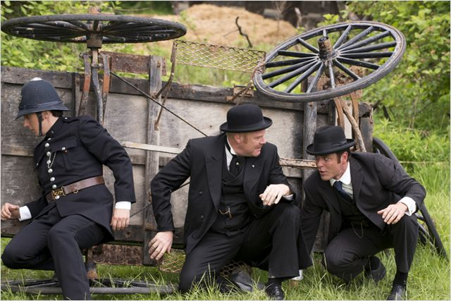 Photo Jonny Harris, Thomas Craig, Yannick Bisson
