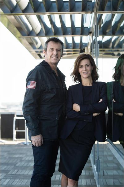 Photo Anne Caillon, Jean-Luc Reichmann