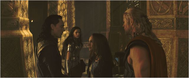 Thor : Le Monde des ténèbres : Photo Natalie Portman, Tom Hiddleston