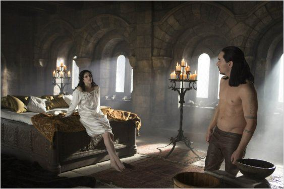 Photo Jessica De Gouw, Jonathan Rhys Meyers