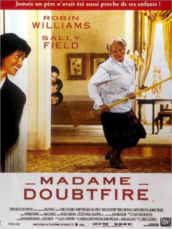[Multi] [HDRip-720p] Madame Doubtfire