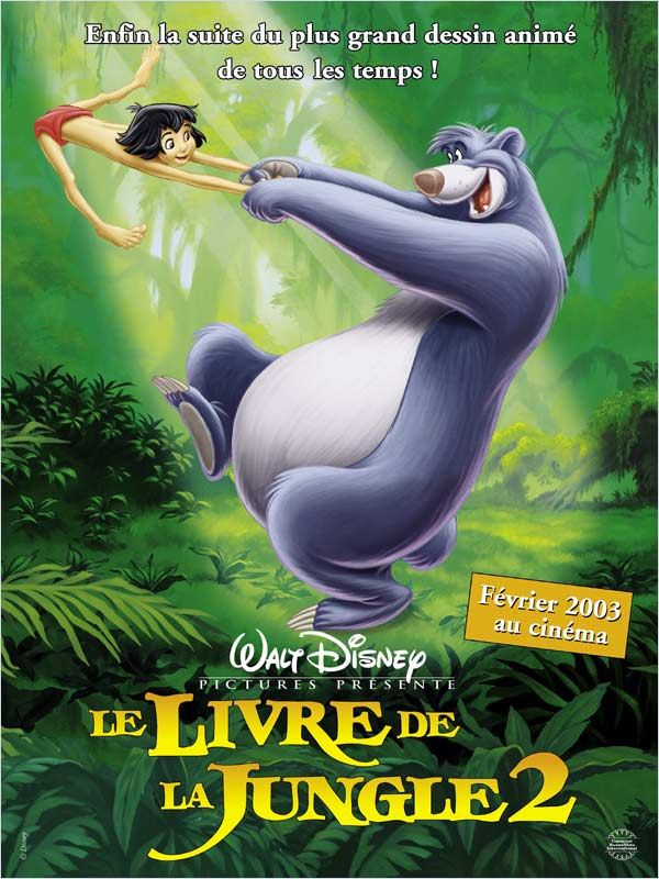 Le Livre de la jungle 2 | Megaupload | DVDRiP
