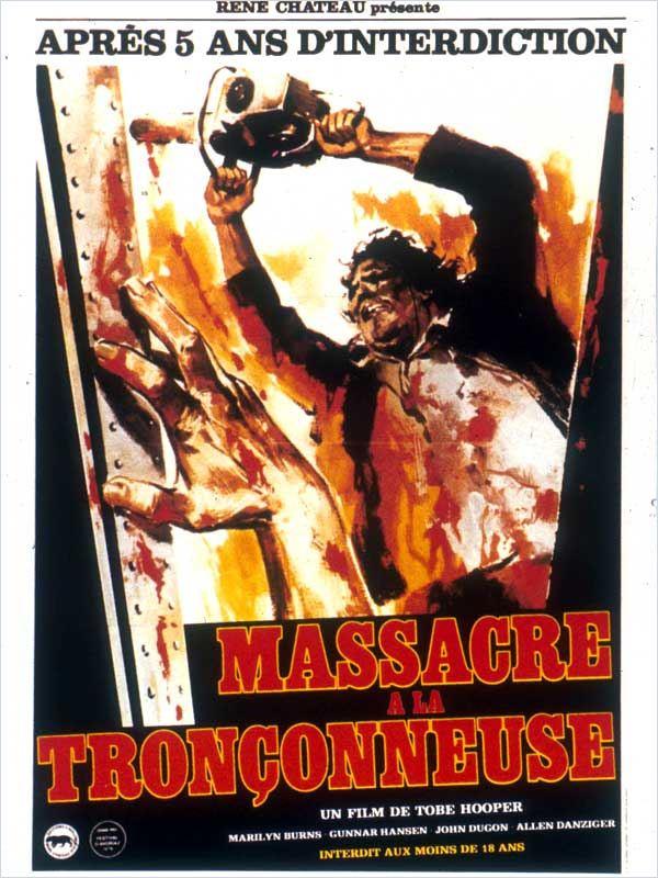 Massacre à la tronçonneuse aff