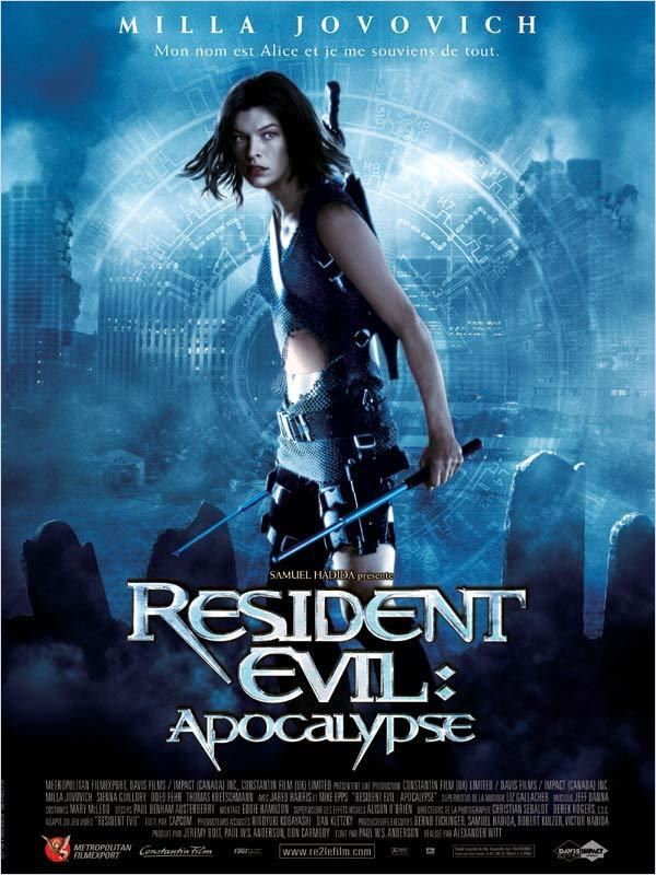 Resident Evil : Apocalypse  DVDRiP FRENCH Fileserve Duckload