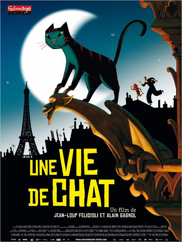 Une vie de chat 2010 [FRENCH] [720p BlueRay x264] [US] [FS]