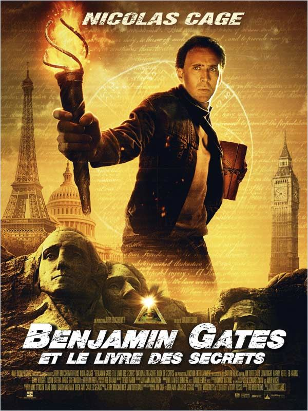 [MULTI] Benjamin Gates et le Livre des Secrets  [DVDRIP FR]