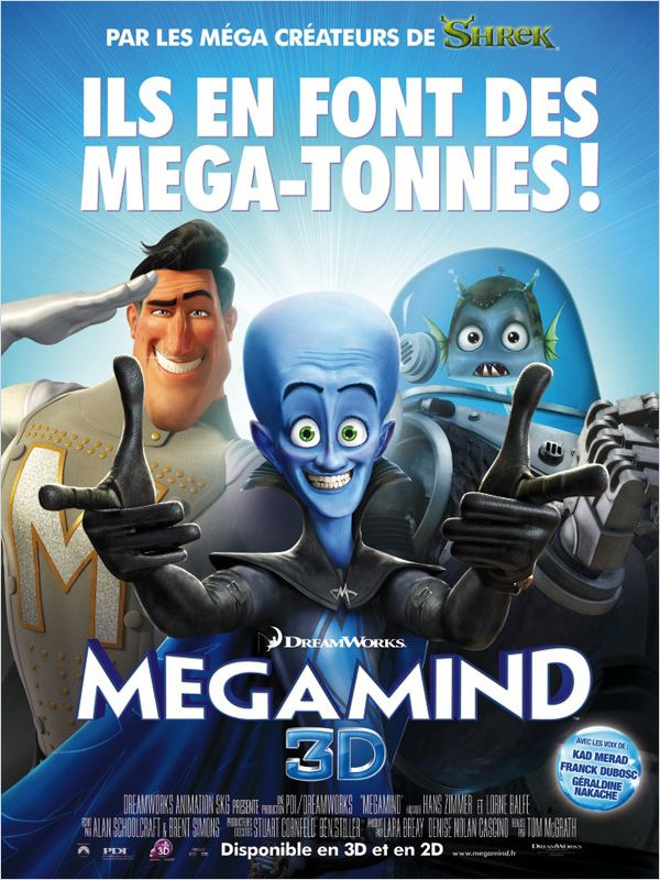 Megamind 2011 [DVDRIP] [TRUEFRENCH] 1CD [FS] [US] [UD]