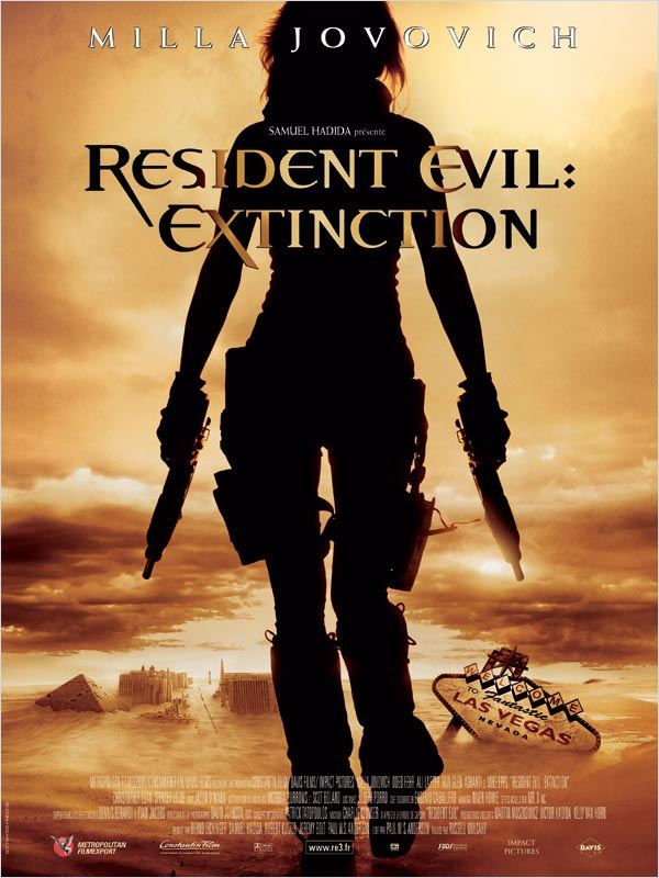 Resident Evil : Extinction  DVDRiP FRENCH Fileserve Duckload