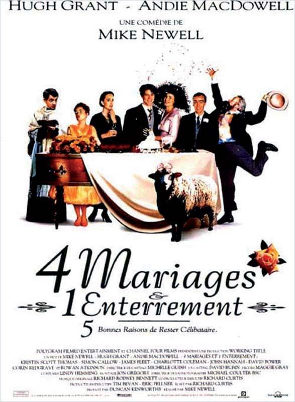 Quatre mariages et un enterrement [DVDRIP|TRUEFRENCH] [FS]