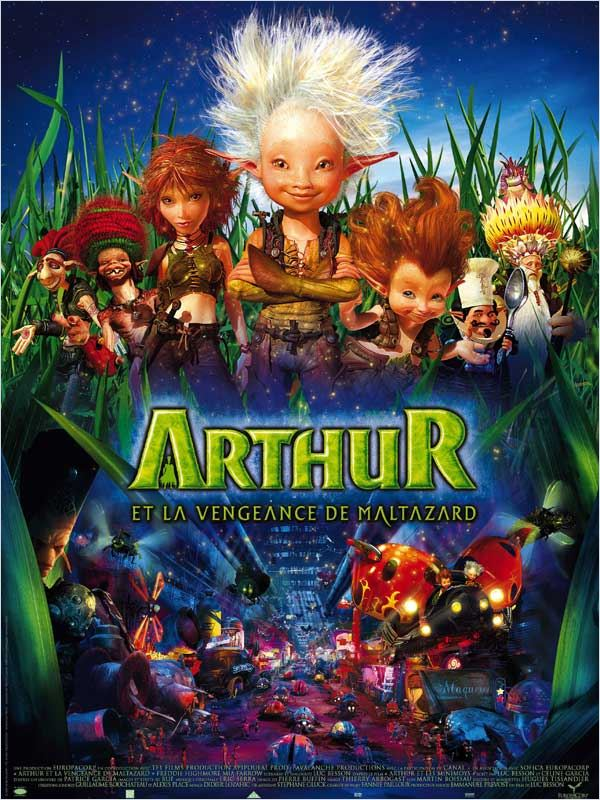 [MULTI] Arthur et la vengeance de Maltazard [Blu-Ray 720p &amp; 1080p]