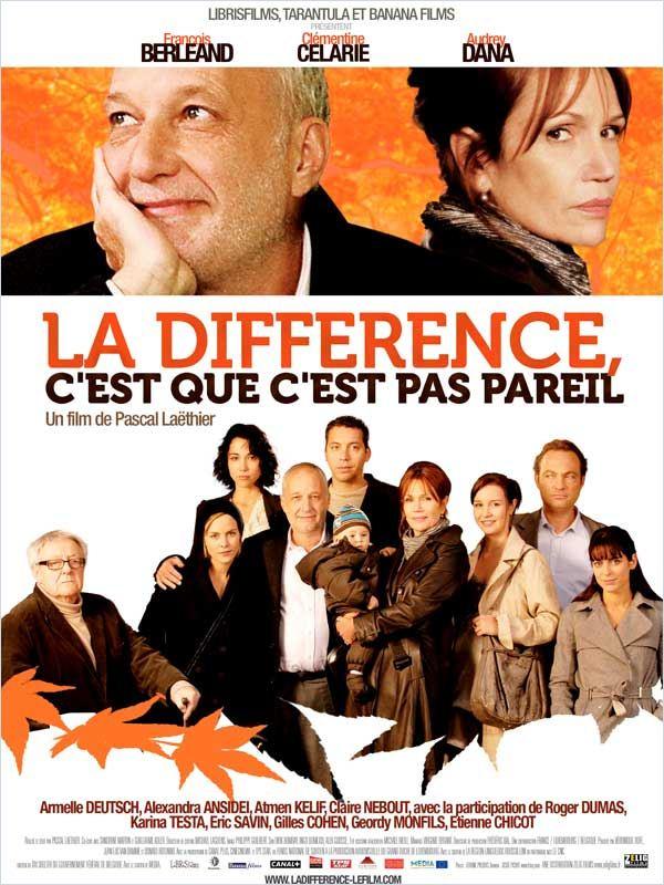 La Différence, c'est que c'est pas pareil [FRENCH] [DVDRIP] [DF]