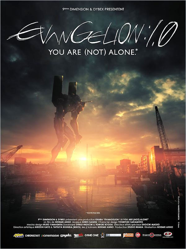 [FS] [DVDRiP] Evangelion : 1.0 You Are (Not) Alone [ReUp 29/01/2011]