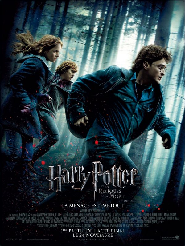 [FS] Harry Potter et les reliques de la mort - partie 1 [2CD] [BDRip]