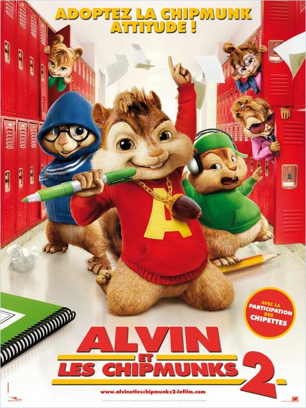 Alvin et les Chipmunks 2 en streaming