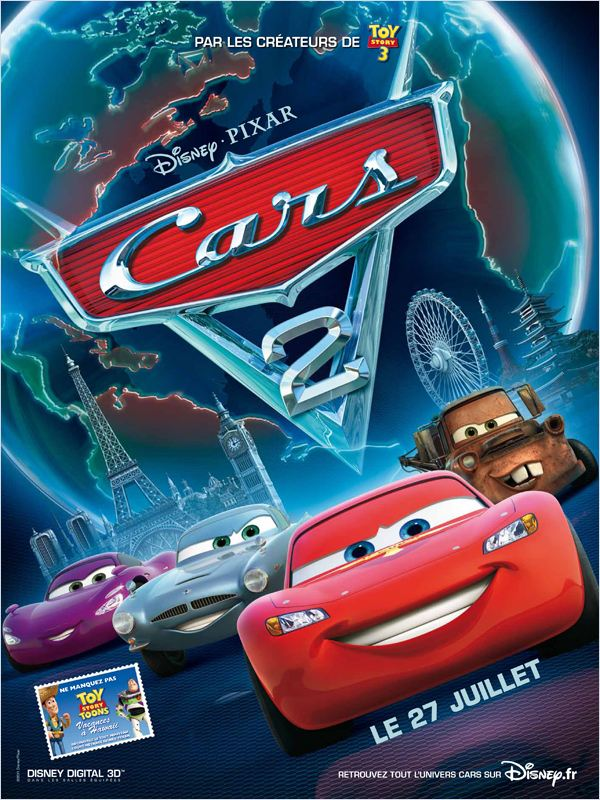 Cars 2 (2011) FRENCH + ENGLISH BLURAYRiP 1080P X264 MKV-LOST [TiNO]
