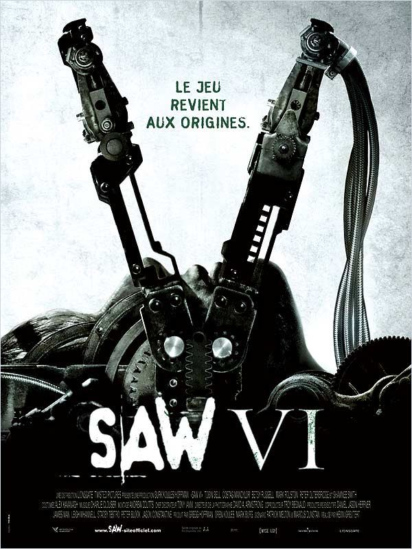 SAW VI French R5 XviD DGP Film pour R4 DS haute qualite by kano62 preview 0