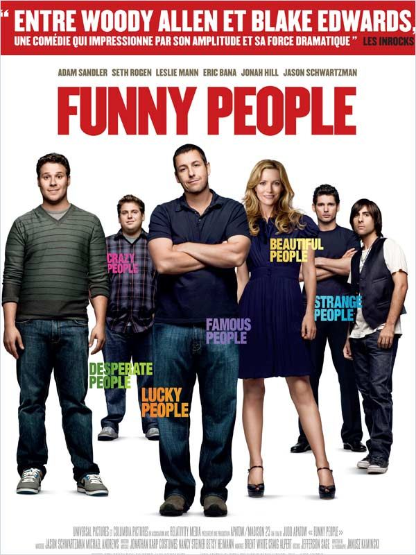 [MULTI]Funny People [DVDRiP]
