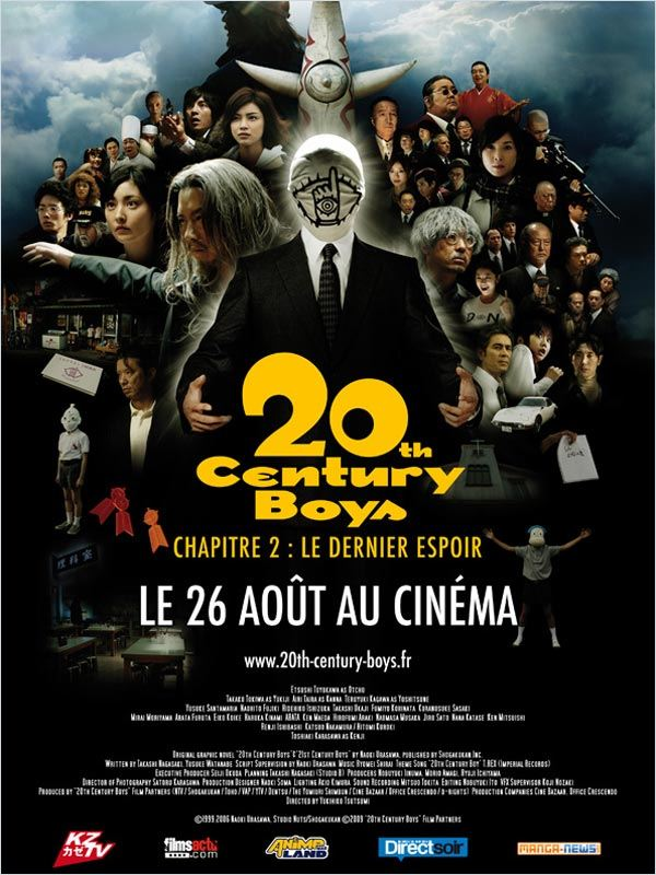 [MULTI] 20th Century Boys - Chapitre 2 : Le dernier espoir [DVDRip] [2CD &amp; 1CD]