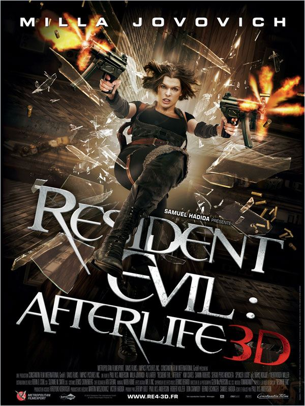 Resident Evil : Afterlife 3D | Multi | DVDRiP
