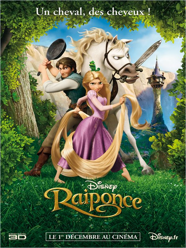 Regarder Raiponce en streaming