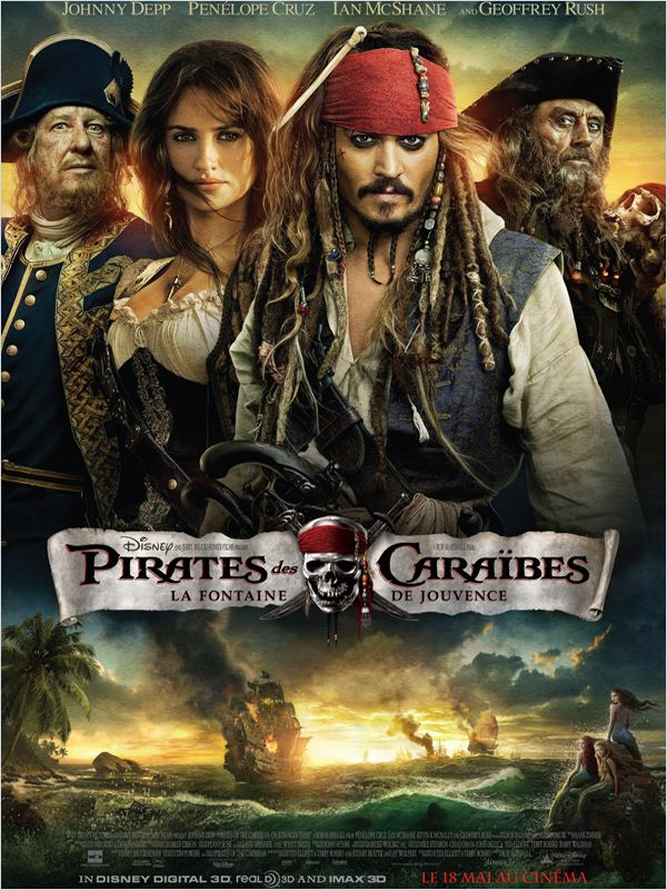 Pirates des Cara�bes : la Fontaine de Jouvence | Multi | BDRiP | 2011