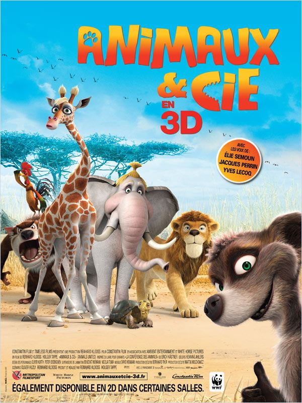 Animaux et Cie | Megaupload | Blu-Ray 3D | 2010