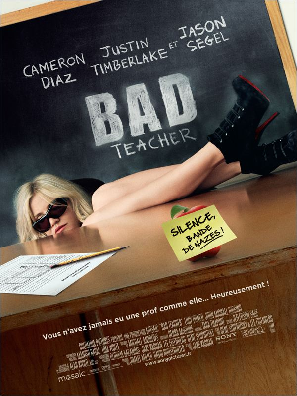 Bad Teacher | Megaupload | DVDRiP | 2011 | VOSTFR