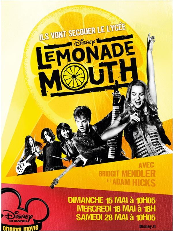 Lemonade Mouth (TV) | Megaupload | DVDRiP | 2010 | VOSTFR
