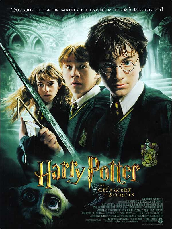 Harry Potter et la chambre des secrets  | DVDRiP | FRENCH | 2CD | UL