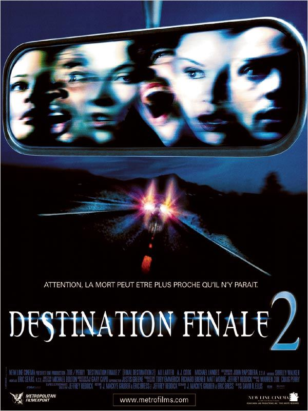Destination finale 2 Megaupload