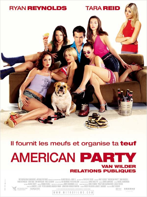 [DF] American party - Van Wilder relations publiques [DVDRiP]