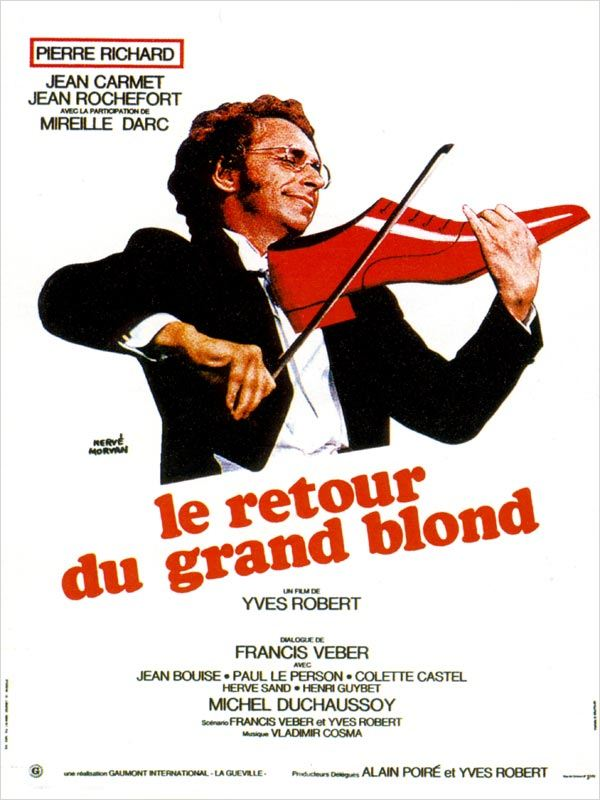 - COMEDIE - Pierre RICHARD - Le Retour du Grand Blond avi