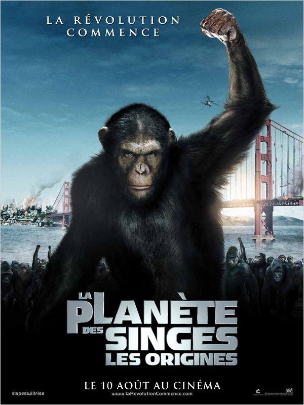 La Planète des singes : les origines ddl