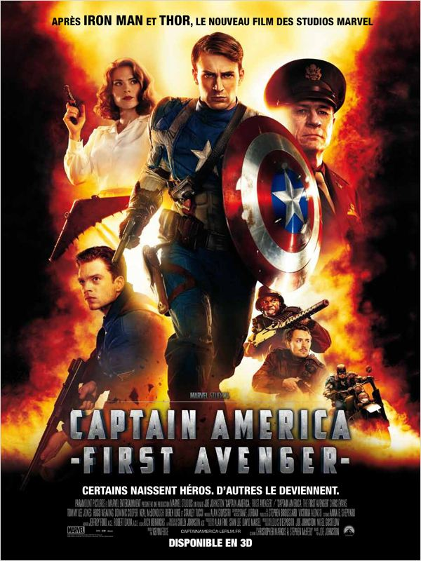 Captain America The First Avenger 2011 TRUEFRENCH BRRip x264 AC3 [FS]
