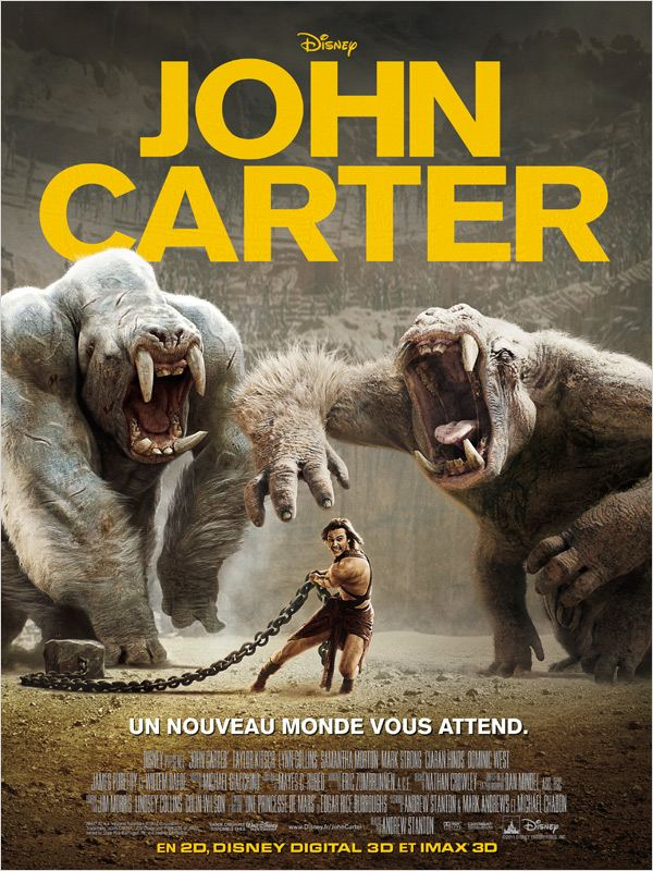 telecharger  John Carter (2012) [DVDRIP] torrent