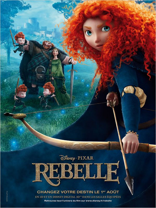 [Multi]  Rebelle (Brave) (2012) 1CD FRENCH BDRIP