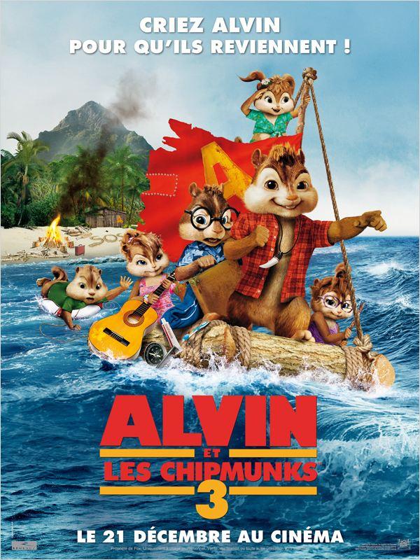 Alvin et les Chipmunks 3 ddl