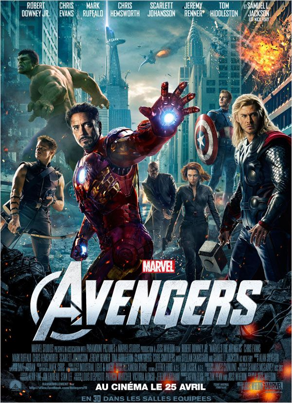 The Avengers 2012 FRENCH DVDRiP AC3 [MULTI]
