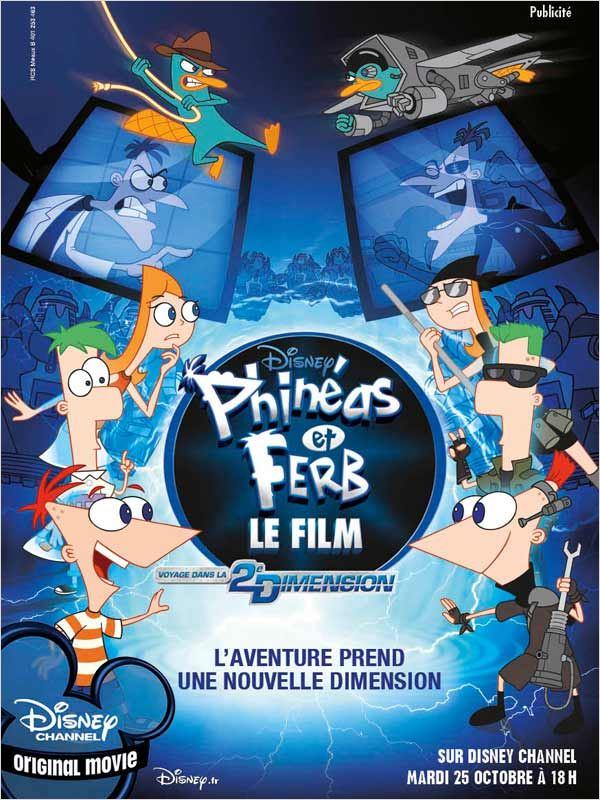 Phinéas et Ferb - Le Film (TV) Megaupload