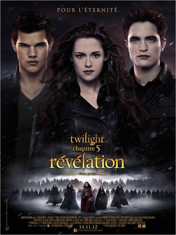Twilight - Chapitre 5 : Révélation 2e partie ddl