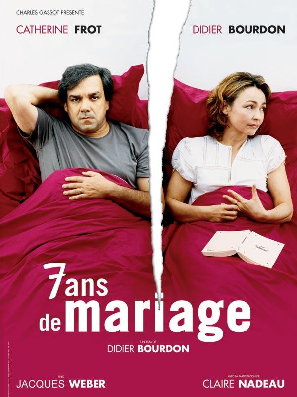 7 ans de mariage affiche